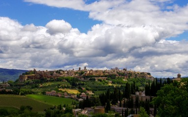Orvieto Umbria Italy Medieval Town Middle Ages