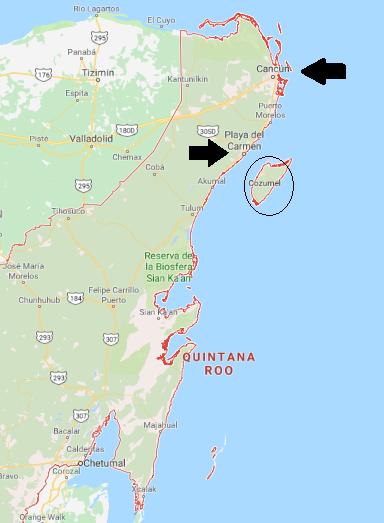Mapa Canquis