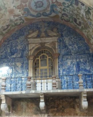 portal azuleijo Óbidos